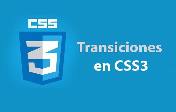 Transiciones en CSS3