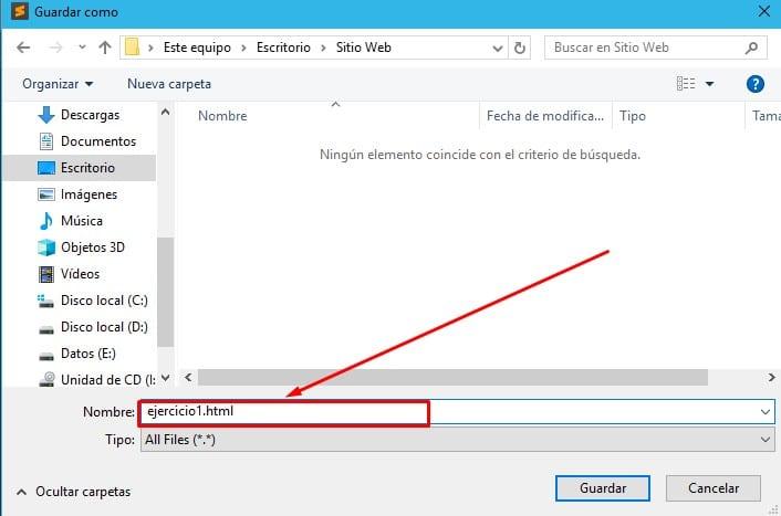 guardando documento html